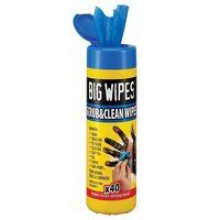 Scrub & Clean Wipes (Tub 40)