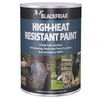 High-Heat Resistant Paint Black 250ml