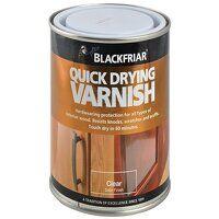 Quick Drying Duratough Interior Varnish Clear Sati...