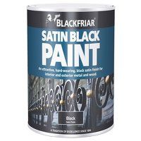 Satin Black Paint 125ml