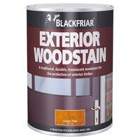 Traditional Exterior Woodstain Chestnut ...