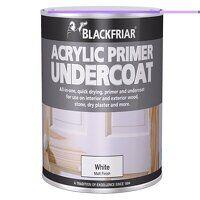 Quick Drying Acrylic Primer Undercoat Grey 250ml