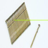 28° Galvanised Ring Shank Stick Nails 2.8 x 50mm (...