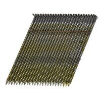 28° Bright Ring Shank Stick Nails 2.8 x 75mm (Pack...