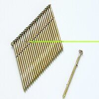 28° Galvanised Ring Shank Stick Nails 3.1 x 90mm (...