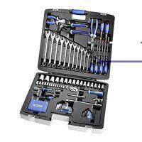 Multi-Tool Set of 124 Metric 1/4 & 1/2in...