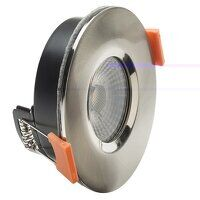 LED Fire Rated Anti-Glare Downlight 3.8W Satin Nic...