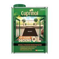 UV Guard Decking Oil Walnut 2.5 litre