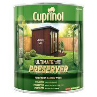Ultimate Garden Wood Preserver Country Oak 1 litre