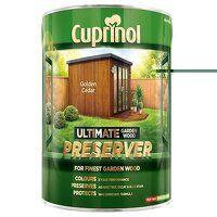 Ultimate Garden Wood Preserver Golden Cedar 4 litr...