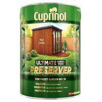 Ultimate Garden Wood Preserver Red Cedar 4 litre