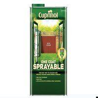 One Coat Sprayable Fence Treatment Rich Cedar 5 litre