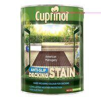Anti-Slip Decking Stain American Mahogany 2.5 litr...
