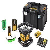 DCE079D1G Green Rotary Laser Kit 18V 1 x 2.0Ah Li-...