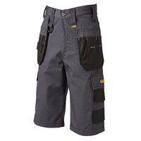 Cheverley Lightweight Grey Polycotton Shorts Waist...