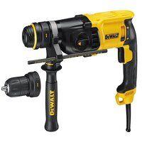 D25134K SDS Plus 3 Mode QCC Hammer Drill 800W 240V
