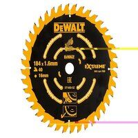 Cordless Mitre Saw Blade For DCS365 184 x 16mm x 4...