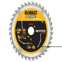 XR FlexVolt Circular Saw Blade 190 x 30mm x 36T