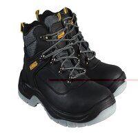 Laser Safety Hiker Black Boots UK 12 EUR 46
