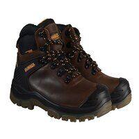 Newark S3 Waterproof Safety Hiker Brown Boots UK 6...