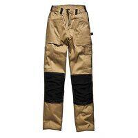 GDT290 Trousers Khaki & Black Waist 36in Leg 33in