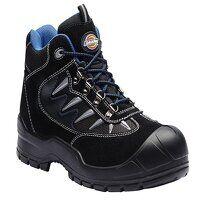 Storm Super Safety Hiker Black/Blue Boots UK 6 EUR...