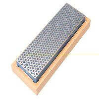 Diamond Whetstone 150mm Wooden Box Blue ...