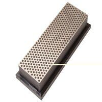 Diamond Whetstone 150mm Plastic Case Bla...