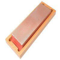 Diamond Whetstone 200mm Wooden Box Red 6...