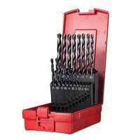 A190 No.201 Metric HSS Drill Set of 19 1.0-10.0 x ...