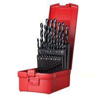 A190 No.204 Metric HSS Drill Set of 25 1.0-13.0 x ...