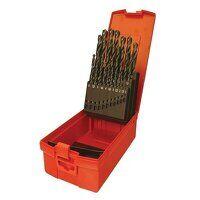 A190 No.206 Metric HSS Drill Set of 29 1.0-13.0 x ...