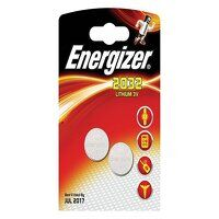 CR2032 Coin Lithium Battery (Pack 2)