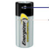 D Cell Industrial Batteries (Pack 12)