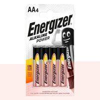 AA Cell Alkaline Power Batteries (Pack 4...