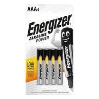 AAA Cell Alkaline Power Batteries (Pack 4)