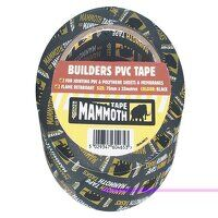 Builder's PVC Tape 50mm x 33m Black
