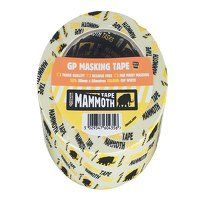 Mammoth Retail Masking Tape 75mm x 50m
