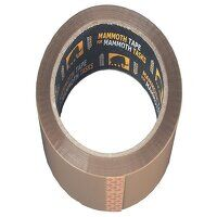 Retail/Labelled Packaging Tape 48mm x 50m Brown