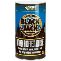 Black Jack® 904 Bitumen Roof Felt Adhesive 1 litre