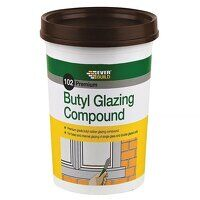 102 Butyl Glazing Compound Brown 2kg