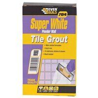 704 Super White Wall Tile Grout 1kg