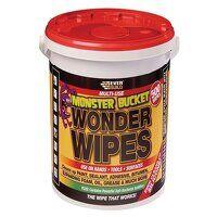 Monster Wonder Wipes (Tub 500)