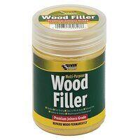 Multipurpose Premium Joiners Grade Wood Filler White 250ml