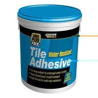 702 Water Resistant Tile Adhesive 7.5kg/5 litre
