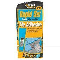 Rapid Set Flexiplus Tile Adhesive 20kg