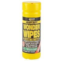 Heavy-Duty Wonder Wipes (Tub 75)