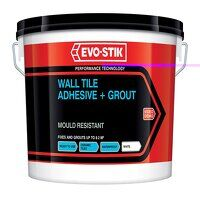 Mould Resistant Wall Tile Adhesive & Gro...