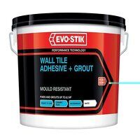Mould Resistant Wall Tile Adhesive & Grout 2.5 lit...