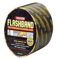 Flashband Roll Grey 150mm x 10m